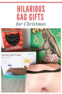 gag gifts for Christmas