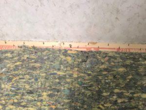 Removing Flooring in Coat Closet