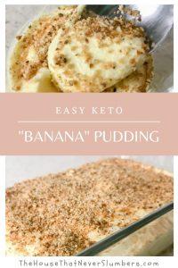 Easy Keto Banana Pudding Recipe